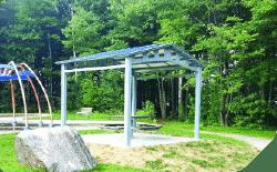 Abris parc soleil récréatif