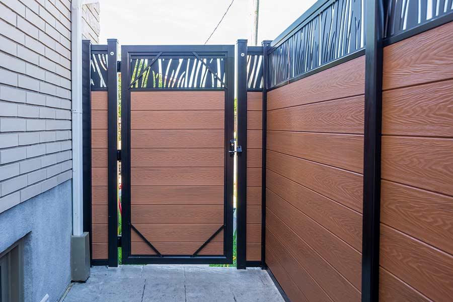 Porte composite EzFence