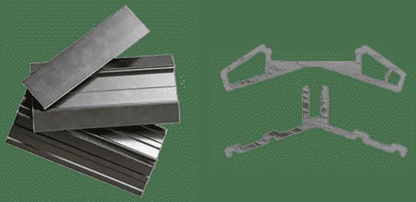 Aluminium Toiture Armature Robuste