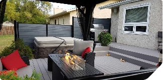 Revêtement de patio