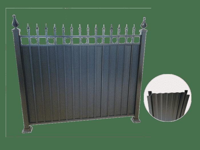 Rampe clôture Versaille intimité